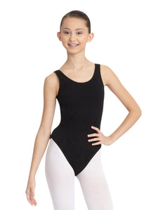 Capezio Tank Leotard with Jazz Legline
