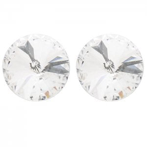 Dasha Designs Swarovski Crystal Solitaire Earring