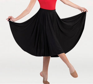 Body Wrappers Below The Knee Circle Skirt