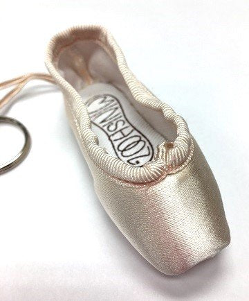 Minishooz Pointe Shoe Keychains