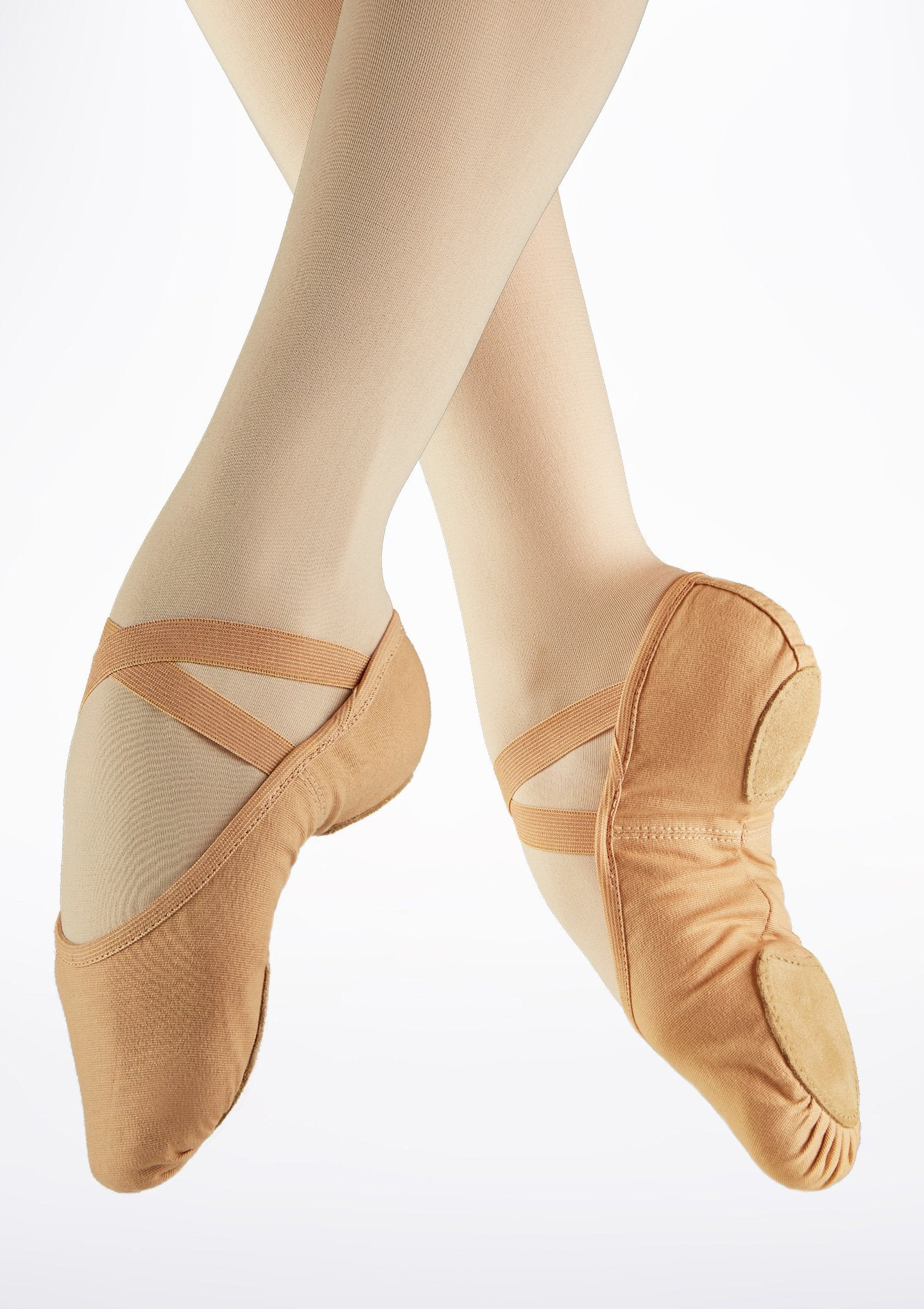 So Danca Nude Stretch Canvas Ballet Slipper