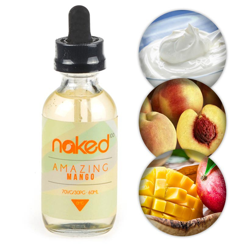 Amazing Mango features a perfectly ripe fresh, juicy Mango with the subtle undertones of a Peach infused cream.