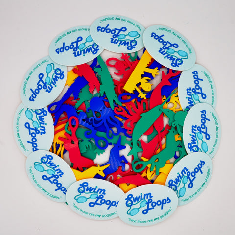 Picture of Swim Loops goggle tag Prize Pack