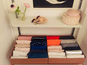 Minimalist living with the KonMari method
