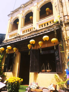 A building in the UNESCO heritage site, Hoi An, Vietnam