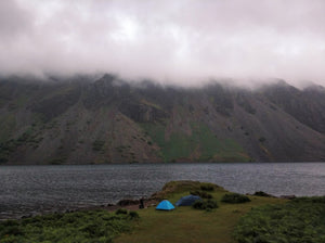 Lake District camping wast water hiking zero waste holiday