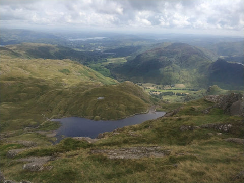 Pavey Ark walking holiday zero waste holiday