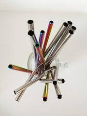 Our range of stainless steel metal straws
