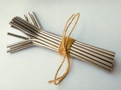 Wholesale curved metal straws