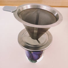 Stainless steel coffee strainer