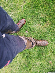 Bog muddy feet fall Hadrian's wall