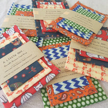 Reusable beeswax food wraps, organic and handmade