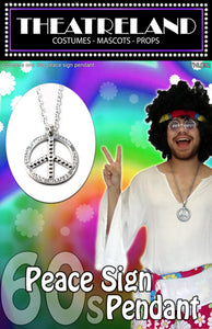 60's Peace Sign on chain