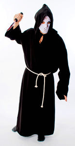 Hooded Gown - Black