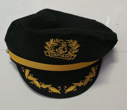 Captains Cap - Navy
