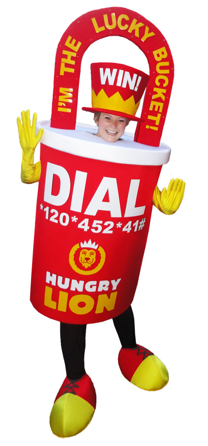 Hungry Lion Lucky Bucket