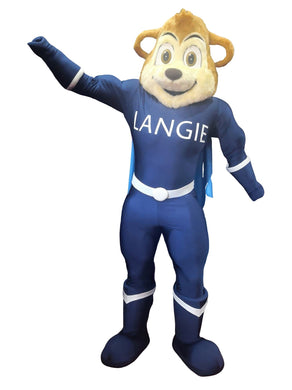 Langie Super Hero Bear