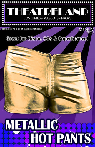 Metallic Hot Pants