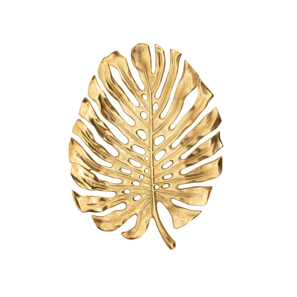 "Lux Monstera Leaf 15"" Wall Platter"