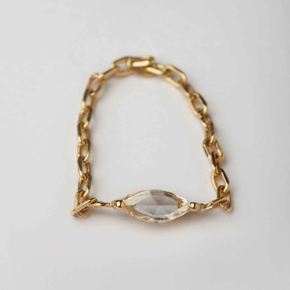 Marquis Rose-cut Diamond Ring