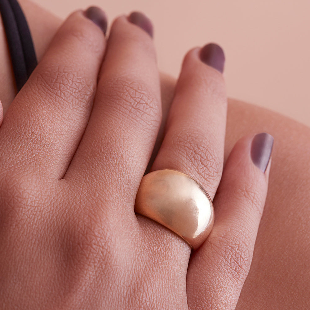 Soften the Edge Sculpted Ring