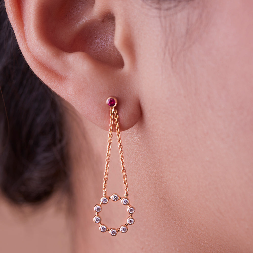 Opposites Attract Mismatched Earrings