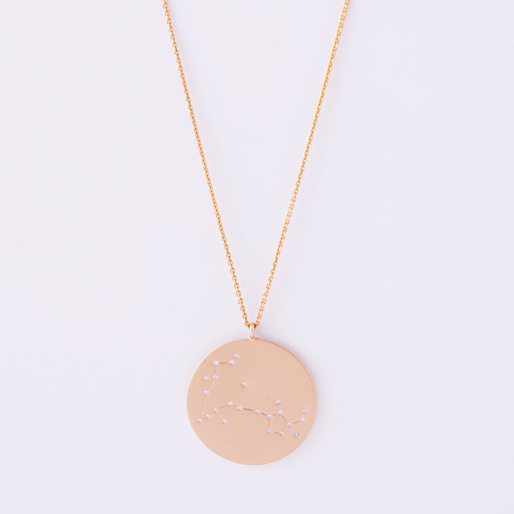 Astral Reversible Necklace Pisces