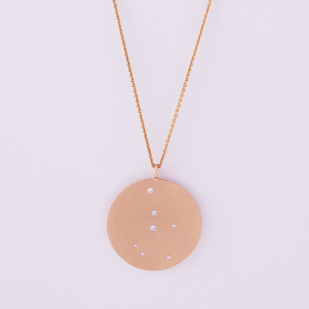 Astral Reversible Necklace Cancer