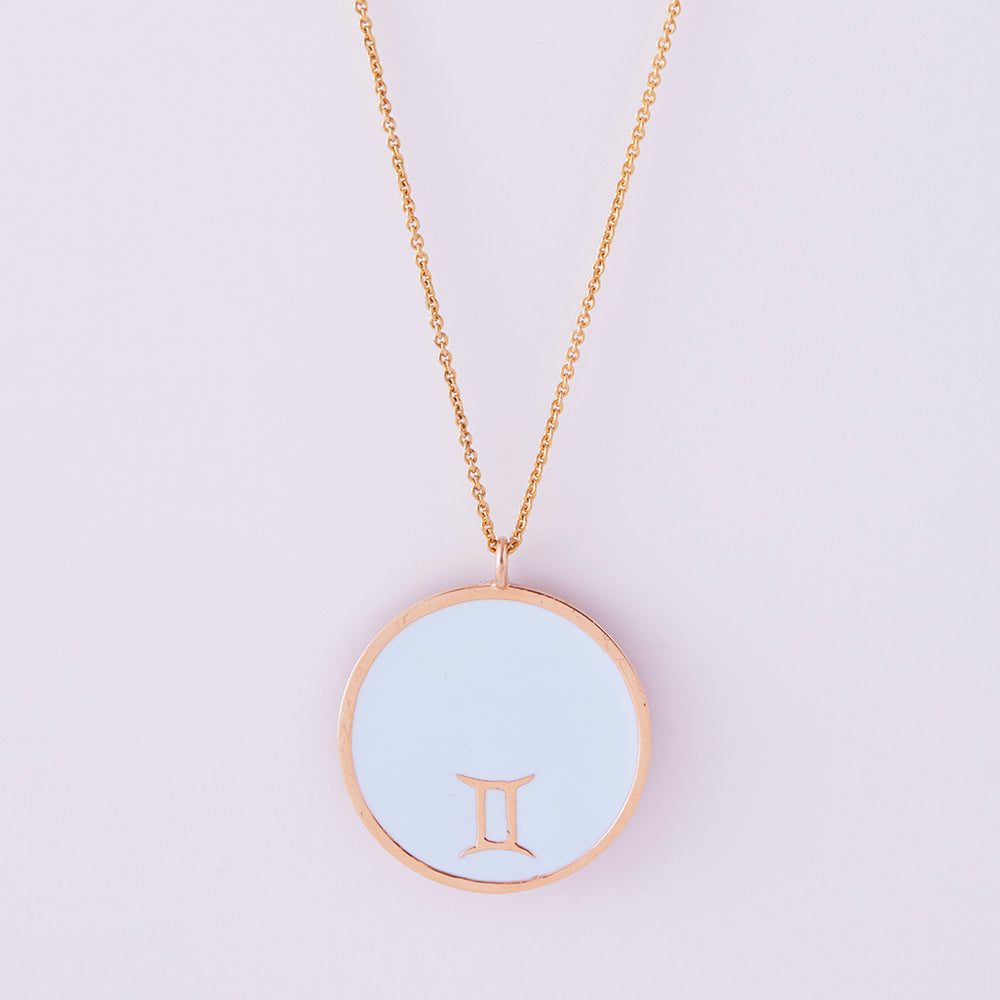 Astral Reversible Necklace Gemini