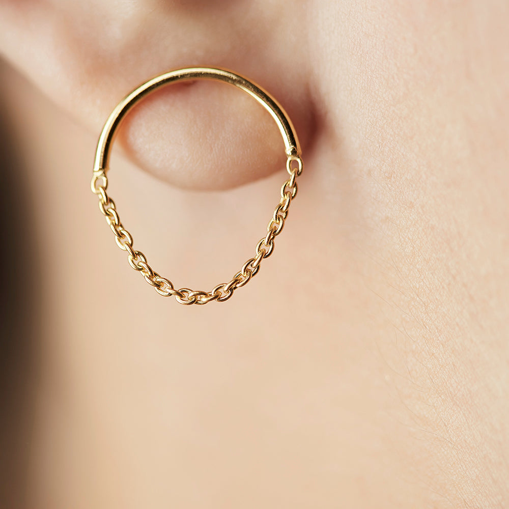 Dropchain Earrings