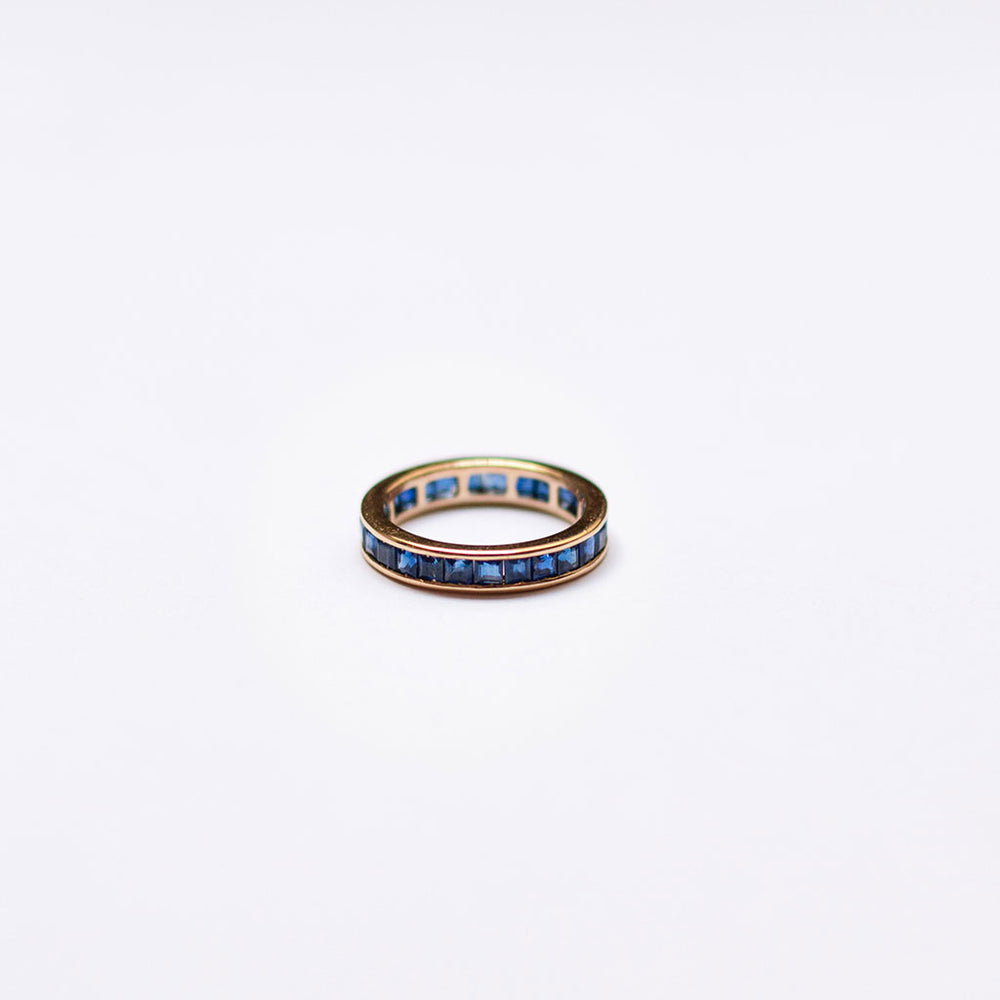 Eternity Ring with Sapphires (Princess)