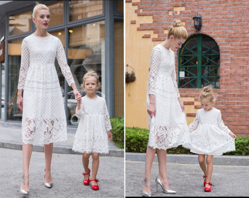 Mini Me Lace Summer Dresses