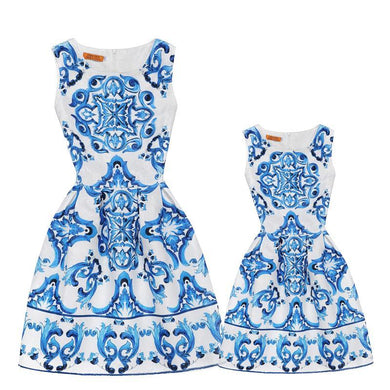 China Doll Mother Daughter Mini-me Dresses