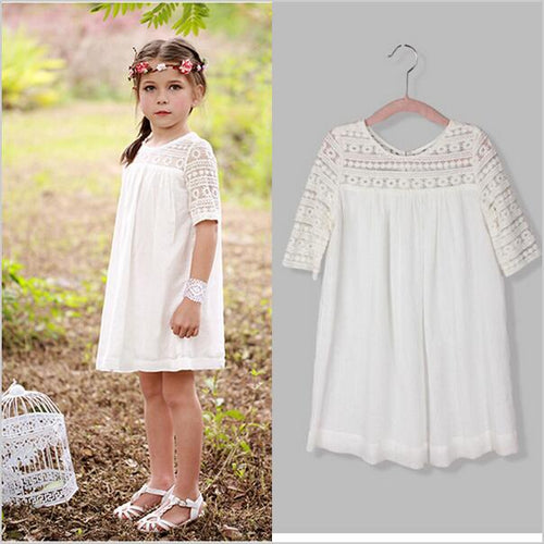 Boho Girl Lace Dress