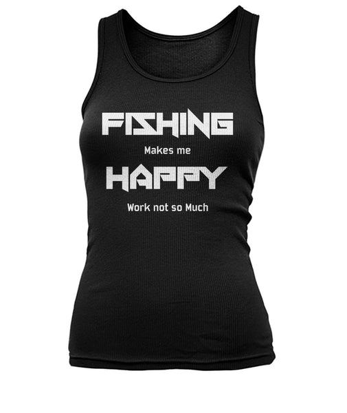 Fishing makes me happy tank