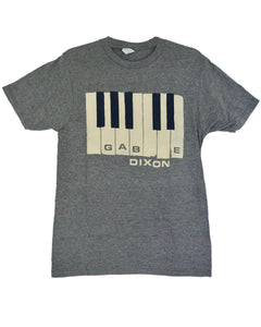 Grey Piano Keys Tee