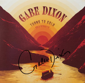AUTOGRAPHED CD - Solo Acoustic - Turns to Gold