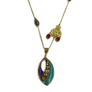 Karma Pendant Necklace- Creative Jewelry by Marcia