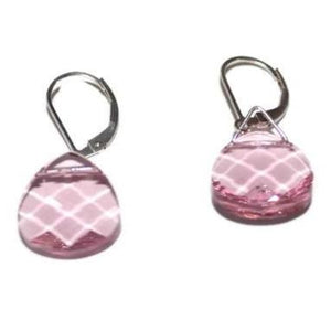 Light Rose Swarovski Crystal Earrings
