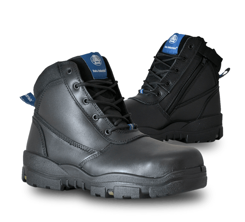 BATA HORIZON SAFETY ZIP BOOT