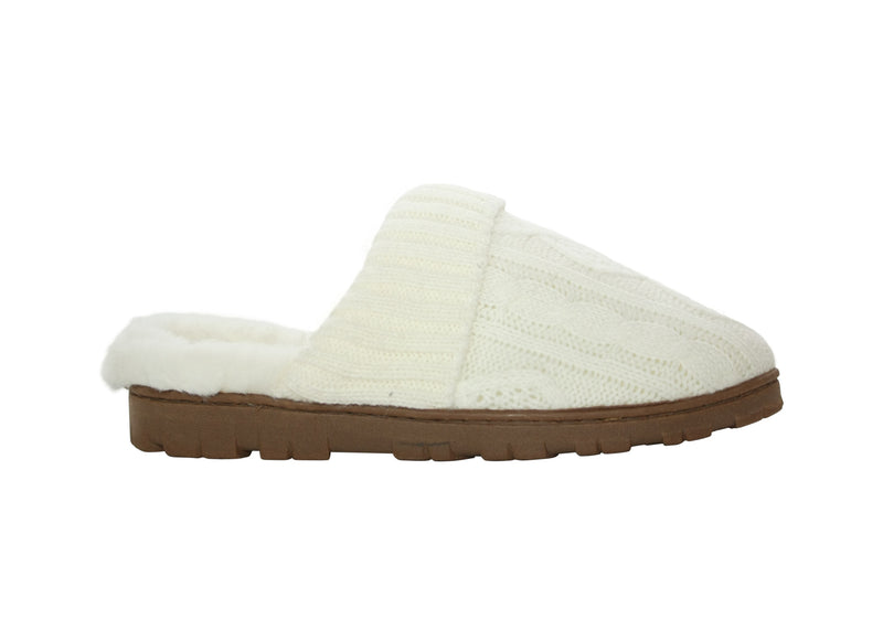 JESSICA SIMPSON - CABLE KNIT SLIPPER