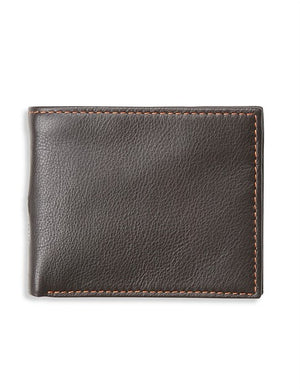 SIMON CARTER LEATHER COIN WALLET