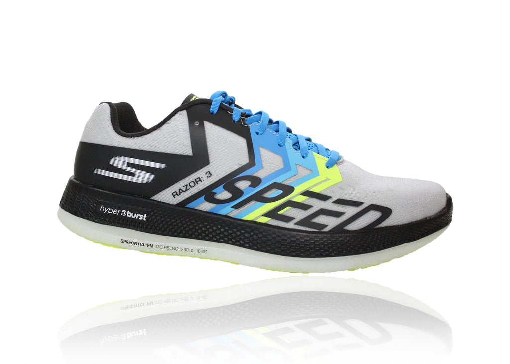 SKECHERS GO RUN RAZOR 3 BLACK/GREEN