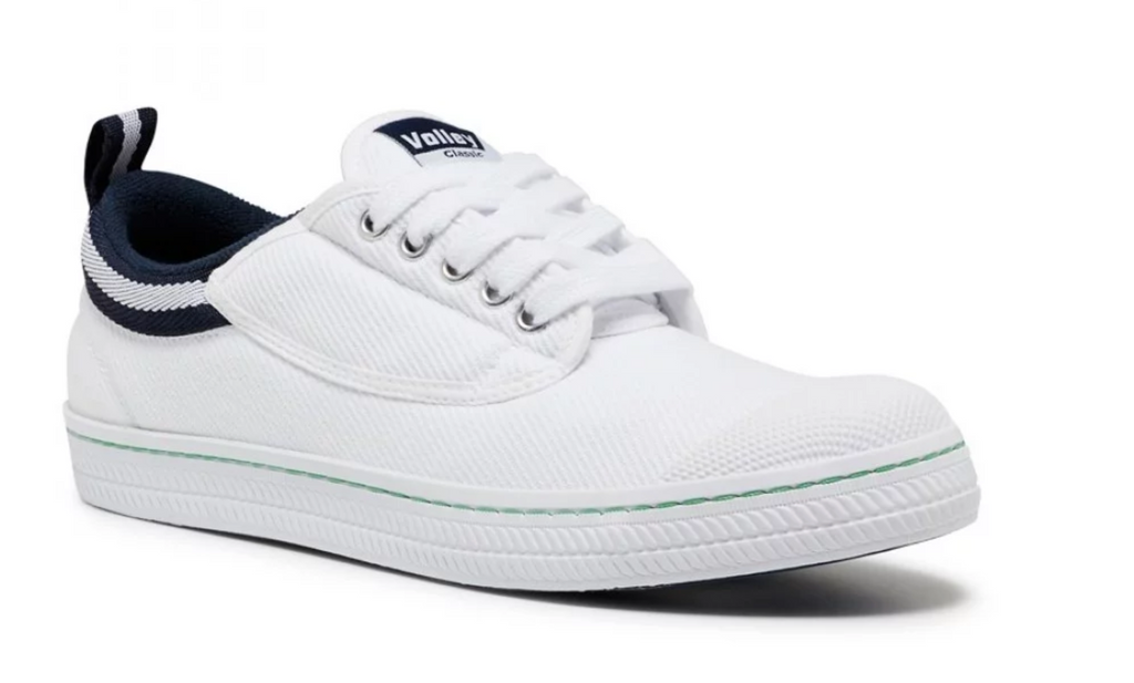 VOLLEY CLASSIC WHITE NAVY