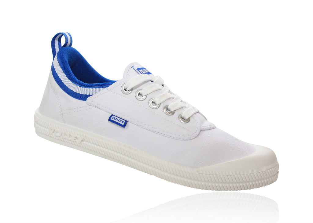 VOLLEY INTERNATIONAL LOW  WHITE/BLUE