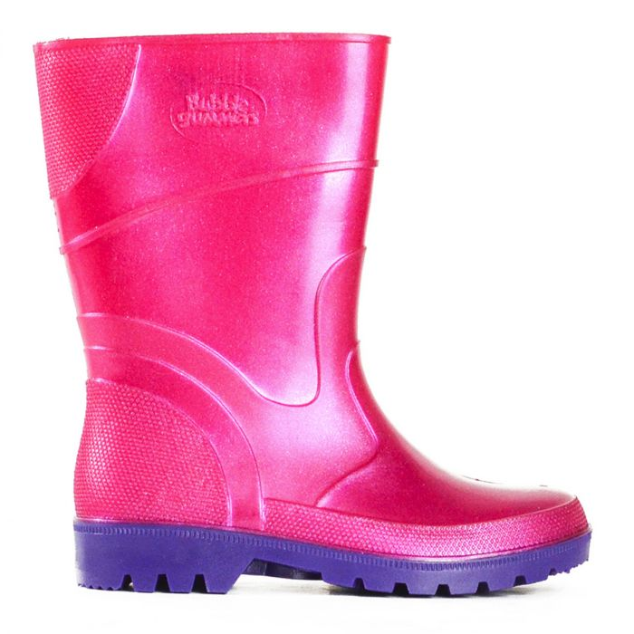 BATA BUBBLEGUMMERS PINK/PURPLE