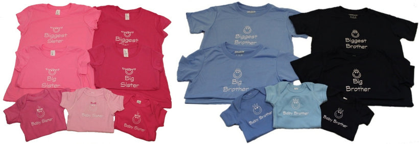 Big Brother/Sister - Baby Brother/Sister Collection