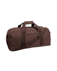 Large Embroidered Duffel Bag