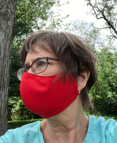 Non Medical Fitted Cloth Face Mask