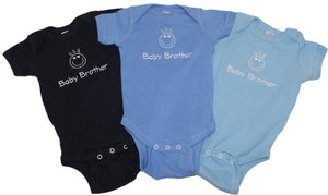 Embroidered Baby Brother Onesie